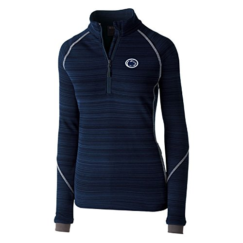 Ouray Sportswear NCAA Gonzaga Bulldogs Women's Deviate Pullover Jacket, Large, Navy ()