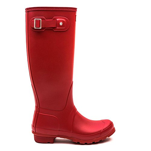 Hunter Original Tall, Bottes Femme Rouge