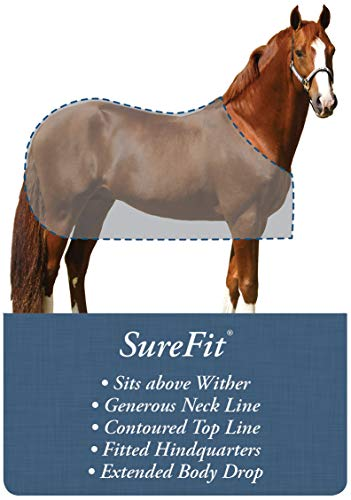 Kensington Protective Products All Around 1200D Waterproof Breathable Horse Rain Sheet by Kensington Protective Products (Image #1)