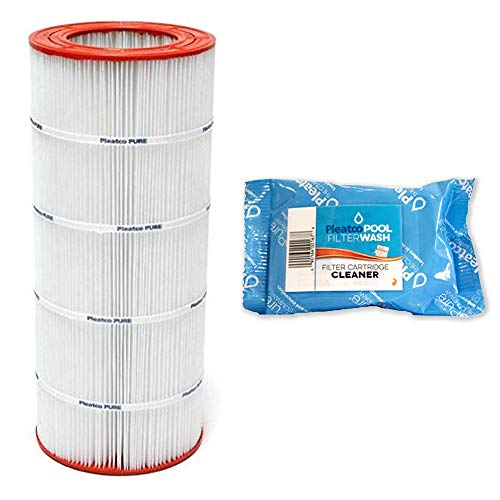 Pleatco Cartridge Filter PAP150-4 Pentair Clean & Clear 150 R173216 59054300 w/ 1x Filter Wash