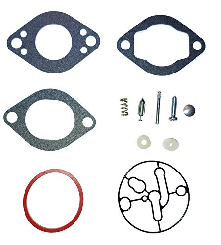 2054 ProPart Carburetor Carb Repair Overhaul Gasket Kit Compatible with Briggs and Stratton 696146 and 696147 Compatible with: 20A400 2044 20D400 2014 20F400 and 210400 206400 2024 2034