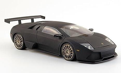 Lamborghini Murcielago Lp640 Negro Mate Modelo De Auto Modello