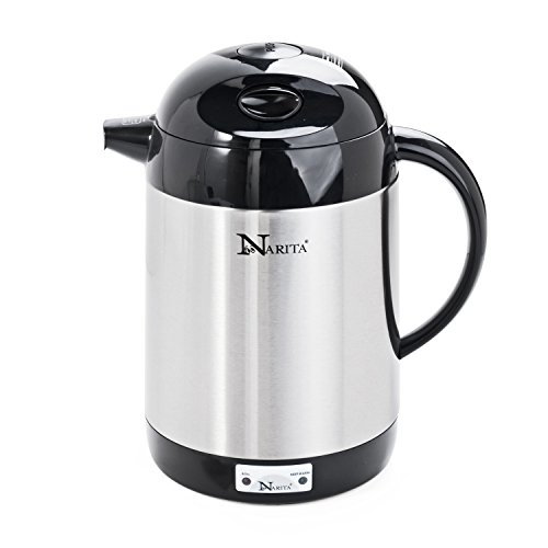 Narita Trading Electric Stainless Steel Water Kettle (1.5...