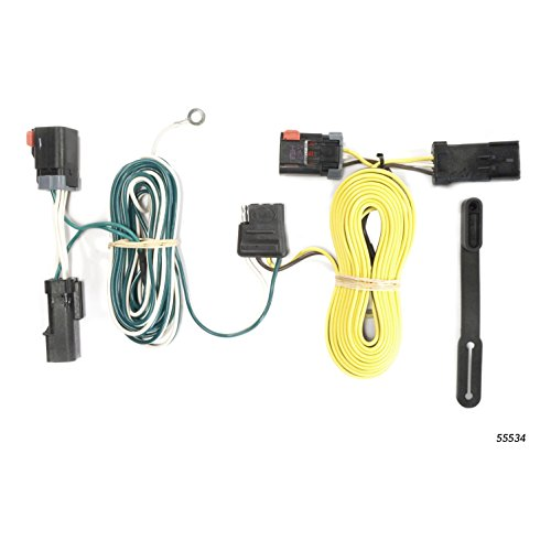 - CURT 55534 Vehicle-Side Custom 4-Pin Trailer Wiring Harness for Select Chrysler 300, Dodge Challenger, Charger