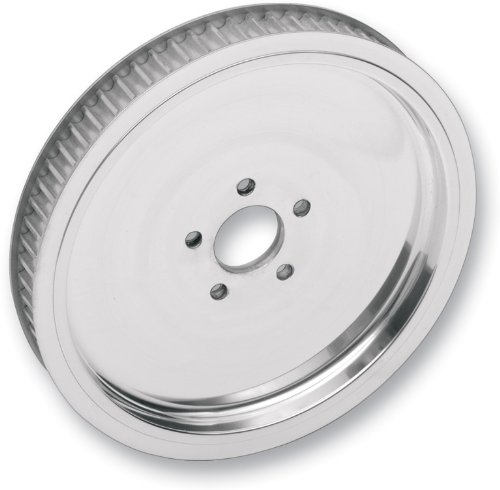 Rear Ltd Pulley Belt Drives - Belt Drives Polished 1 1/2in. Rear Belt Pulley - Solid - 70T RPP-70