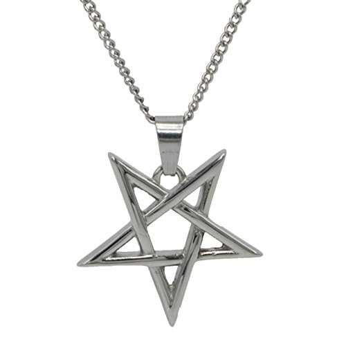 devil pentagram necklace - 3