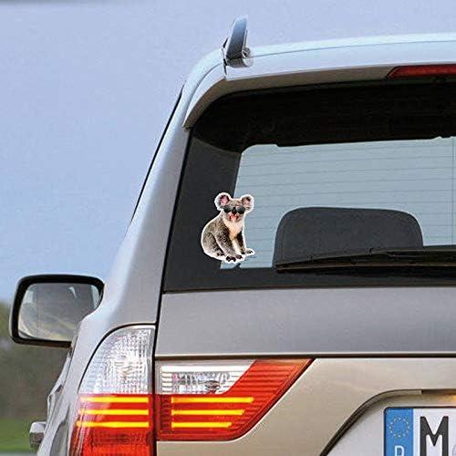 More Shiz Koala Bear Sunglasses Vinyl Decal Sticker Car Truck Van SUV Window Wall Cup Laptop MKS1445 5 Inch Decal