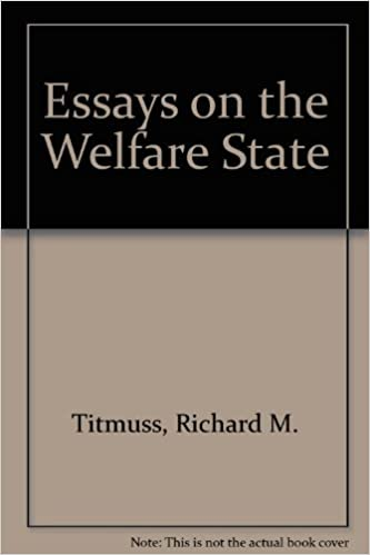 essays on the welfare state richard m titmuss  essays on the welfare state richard m titmuss 9780043610220 com books