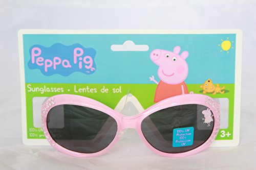 Peppa Pig Girls Sunglasses 100% UV - With Pig Sunglasses