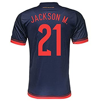 Adidas Jackson .M #21 Camiseta 2da Colombia Hombres Fútbol 2015 (M)