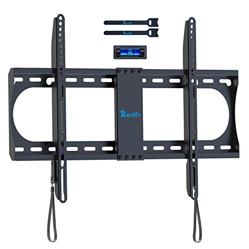 Rentliv TV Wall Mounts TV Bracket for Most 23-55 Inch Flat Curved Screen, Full Motion TV Mount Bracket with Swivel Articulating Dual Arms Extension Tilt Rotation, Max VESA 400x400mm, 99 LBS Loading