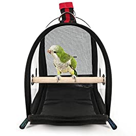 Colorday Lightweight Bird Carrier, Bird Travel Cage