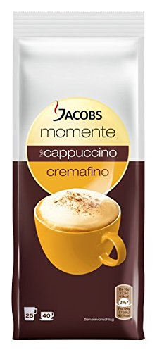Jacobs Momente Cappuccino Cremafino, Creamy, Instant Coffee, 10 x 400 g, Storage Bag, 93933 by Yulo Toys Inc
