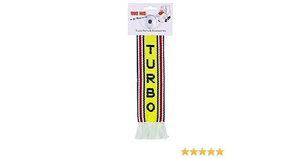 TRUCK DUCK® Camiones Auto Mini - Turbo Mini - Banderín ventosa Espejo Decoración Coche: Amazon.es: Coche y moto