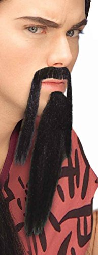 Forum Novelties Men's Novelty Warrior Beard and Mustache,