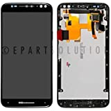 ePartSolution_OEM Motorola Moto X Pure Edition XT1575 LCD Display Touch Screen Digitizer + Frame Assembly Replacement Part USA Seller (Black)