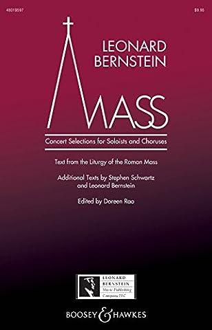 Leonard Bernstein Music Mass Percussion Composed by Leonard Bernstein Edited by Doreen Rao (Bernstein Mass Sheet Music)