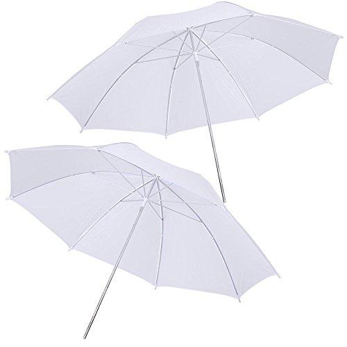 AW Portable Flat Clothing Photography Kit w/Backdrop 2X 45W Bulb 2X 33 Translucent White Umbrella Set by AW (Image #2)
