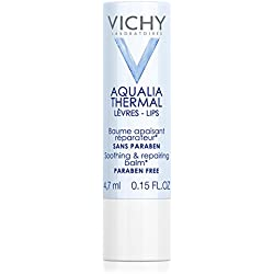 Vichy Aqualia Thermal Lip Balm for Soothing and Repairing, 0.15 Fl. Oz.