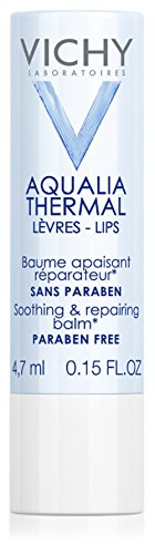 Vichy Aqualia Thermal Lip Balm for Soothing and Repairing, 0.15 Fl. Oz.