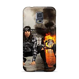 Samsung Galaxy S5 Gnw4567vkee Allow Personal Design High-definition Foo Fighters Pattern Great Hard Cell-phone Cases -KerryParsons