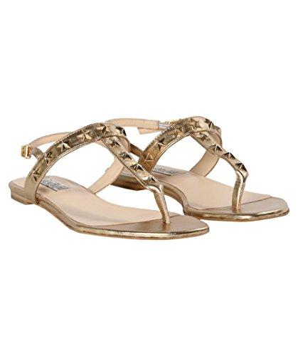 Leather Tommy Star Hilfiger Sandals X Hadid Gigi Gold SSwa1f7q