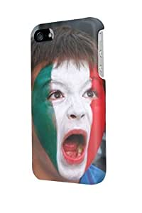 ip40770 italy fan world cup soccer brasil 2014 Glossy Case Cover For Iphone 4/4s