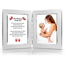 Best Valentines Gift for Mother from daughter, son, baby. Mothers Day Card & Gift. Birthday, New Mom, Special Gift for Mom . Mommy & Me Gift. Delightful Poem + Favorite Photo = Custom Poetry Gift