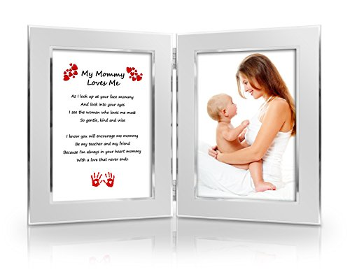 Best Christmas Gift for Mother from daughter, son, baby. Mothers Day Card & Gift. Birthday, New Mom, Special Gift for Mom . Mommy & Me Gift. Delightful Poem + Favorite Photo = Custom Poetry Gift (Christmas Poems For Moms)