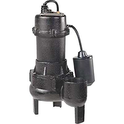 Wayne 1/2 HP Cast-Iron With Tether Switch Sewage Pump - RPP50