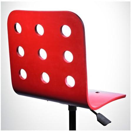 IKEA JULES silla de escritorio Junior, rojo: Amazon.es: Bebé