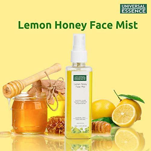 Honey, curd and lemon pack