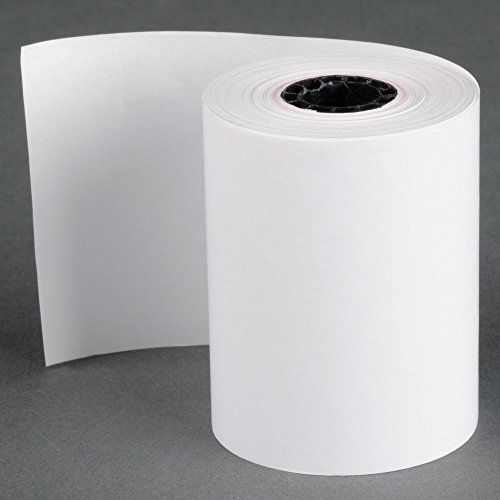 (100 Rolls) 2 1/4 x 85' First Data FD130 FD50 FD400 FD55 FD100Ti Thermal Paper BPA Free Made in USA from BuyRegisterRolls. by BuyRegisterRolls (Image #1)