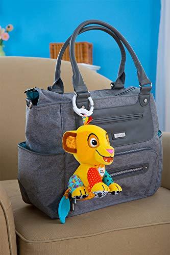 41hnEpoTXCL - Lamaze Disney Lion King Clip & Go, Simba Baby Toy