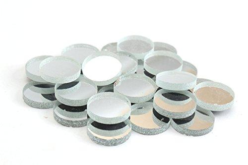 - Milltown Merchants Mirrored Mosaic Tile (1 Pound, Mirrored Circle - 3/4 Inch)