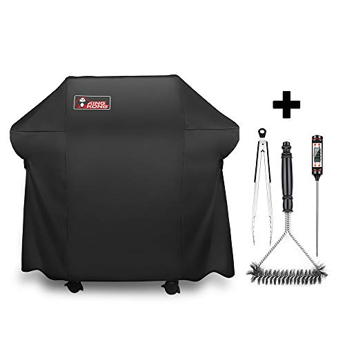 - Kingkong Grill Cover 7106  Cover for Weber Spirit 200 and 300 Series Gas Grill Including Grill Brush,Tongs and Thermometer