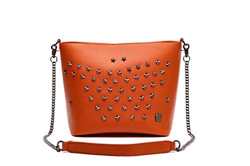 Naranja bolsos hombro tote MAMBO beige bolso Bolsos y grande shopper bolso mujer mujer naranja Bolsos marrón Z57tqnHx5