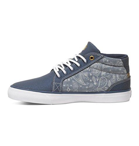 Hautes pour DC Council mi Femme ADJS300059 Chaussures Se Bleu Shoes xgqfv