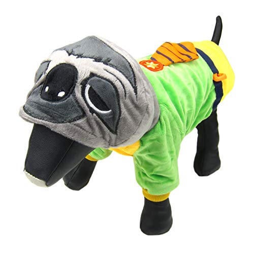 Alfie Pet by Petoga Couture - Revere Sloth Costume - Size: Medium ()