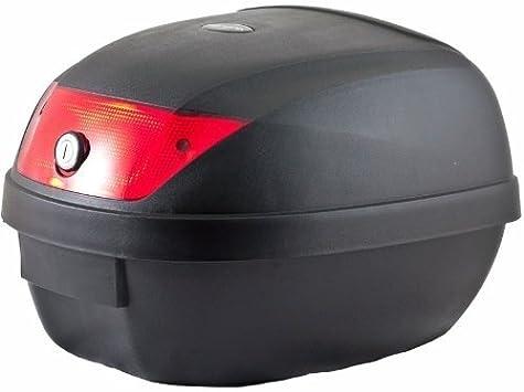 SATKIT Universal baúl de Moto Scooter Maleta 28 L Motocicleta para 1 Casco, portacasco mod-YM-0807