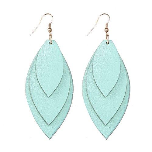 TIDOO-Jewelry-Women-Three-Layers-Leather-Drop-Earring