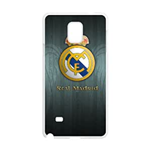 Samsung Galaxy Note 4 Cell Phone Case White Real Madrid 002 Exquisite designs Phone Case KMJ86942