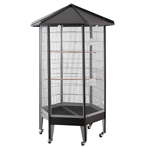 61818 HQ Large Parrot Aviary Cage 36