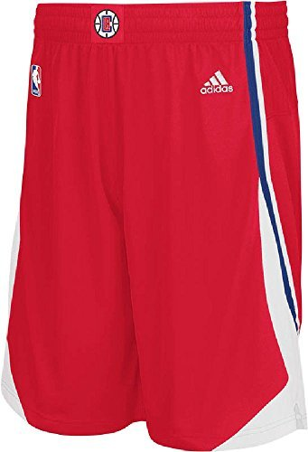 NBA Los Angeles Clippers Youth Boys 8-20 Replica Road Shorts, X-Large (18/20), Red (Replica Road Paul Jersey Chris)