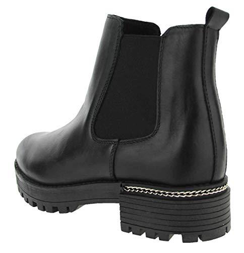Shoes Piel Ps Lisa Mujer Botines Chelsea De Zxvqd