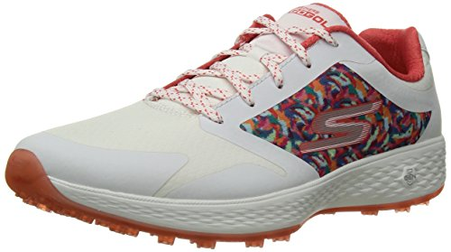 Skechers Performance Women's Go Eagle Major Golf-Shoes,white/multi,8 M US