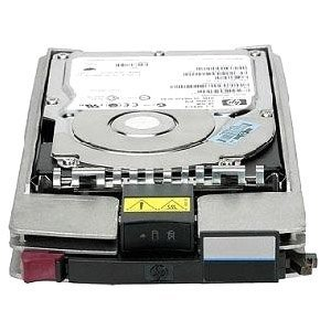 - HP 454411-001 300GB hard disk drive - 15,000 RPM, 4Gb/s transfer rate, Fibre Channel (FC) connector (part of AG690A, AG690B, AG425A, AG425B, AG718B, and AG719B)