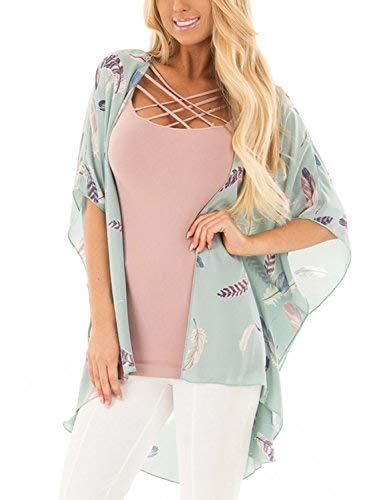 (BB&KK 2018 Summer Bikini Bathing Suit Shawl Wrap Top Dress L Size)