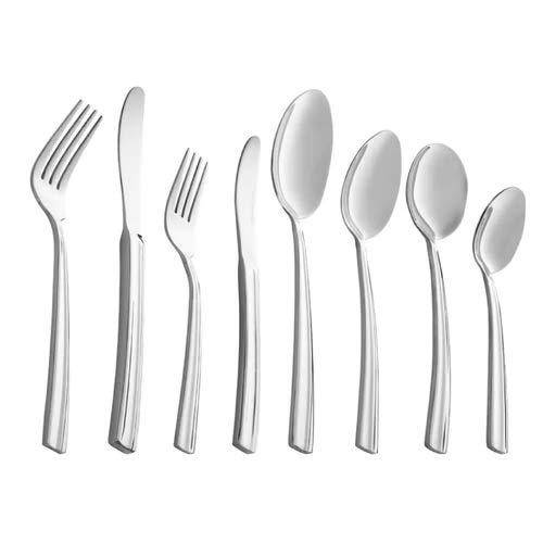Silver 45 x 45 x 30 cm Belleek Pottery Occasions Cutlery Set Stainless Steel