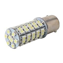 NNDA CO 10X 1156 68SMD 3528 LED Reversing Lights Turn Signal Car Bulbs Motor Lamp White